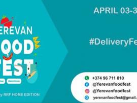 В Ереване стартовал DeliveryFest