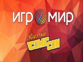 В октябре Comic Con Russia и Игромир пройдут в Москве в пятый раз!