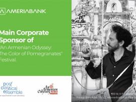 Америабанк в поддержку армянской культуры: стартовал фестиваль «Армянская Одиссея: цвет . . .